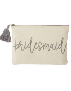 Bridesmaid Gift Pouch