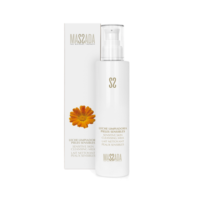 SENSITIVE SKIN CLEANSING MILK von Massada Naturkosmetik