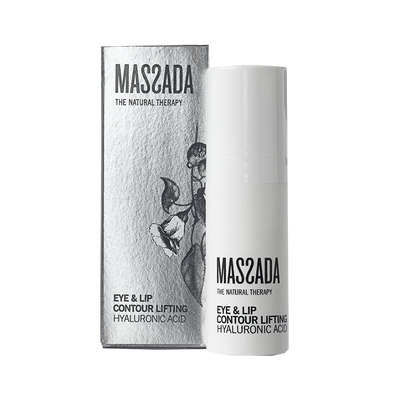 EYE & LIP CONTOUR LIFTING HYALURONIC ACID von Massada Naturkosmetik