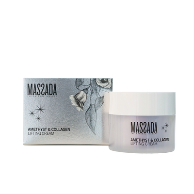 AMETHYST & COLLAGEN LIFTING CREAM von Massada Naturkosmetik