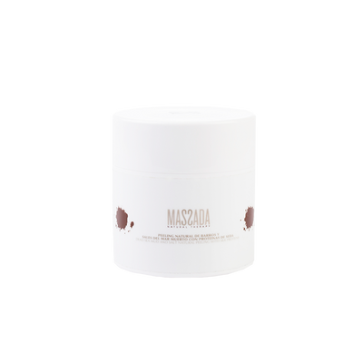 SEA MUD AND SALT NATURAL PEELING WITH SILK PROTEINS von Massada Naturkosmetik