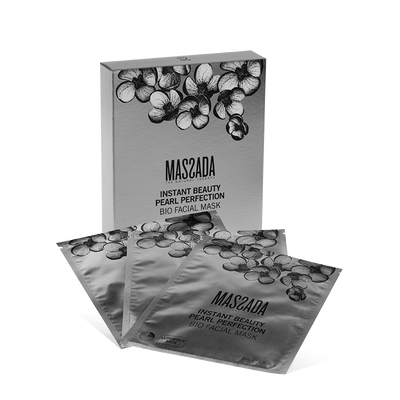 INSTANT BEAUTY PEARL PERFECTION BIO FACIAL MASK von Massada Naturkosmetik