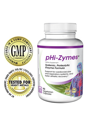 pHi-Zymes® 90 Capsules - Due back in mid November