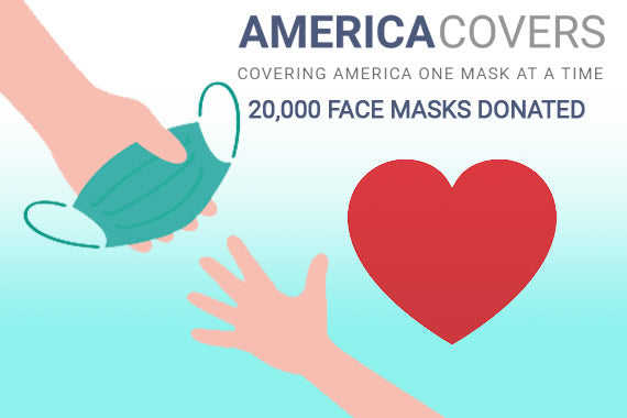 America Cover Donates 20,000 Face Masks to Frontline Workers