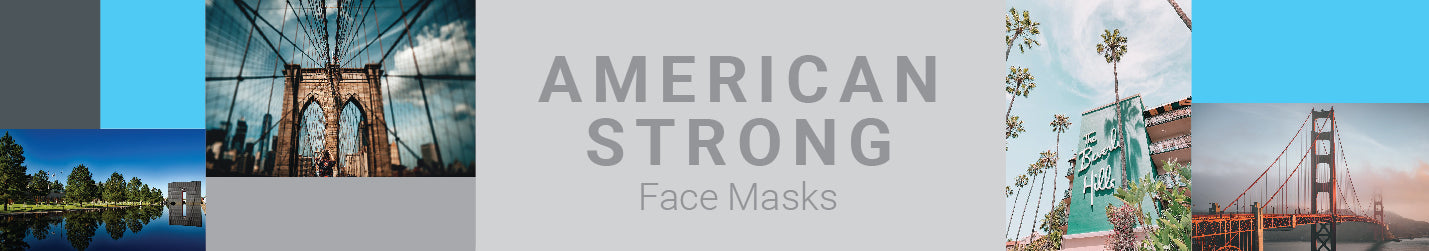 America Strong Face Masks