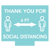 SOCIAL DISTANCE <br>YARD SIGNS