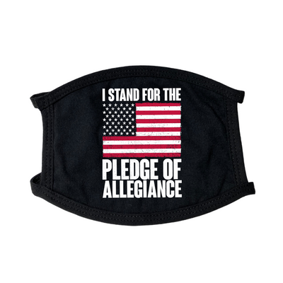 I Stand For Pledge of Allegiance Face Mask