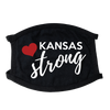 Kansas Strong Face Mask