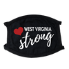 West Virginia Strong Face Mask