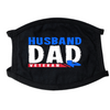 Husband Dad Veteran Face Mask