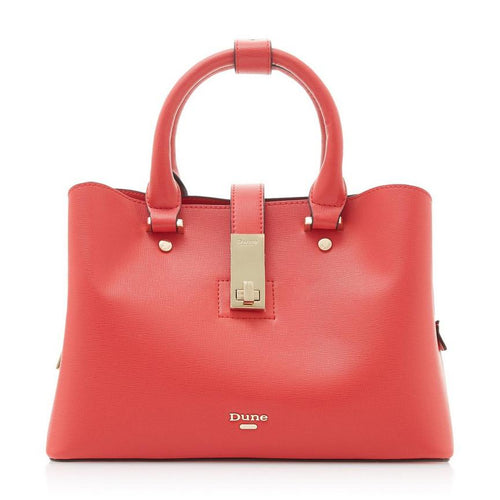 Dune - Red Small Unlined Tote Bag