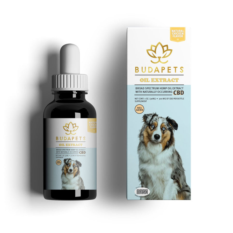 Omega Hemp Drops for Dogs / 300mg