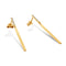Solid 9ct Gold Highway To Heaven Earrings