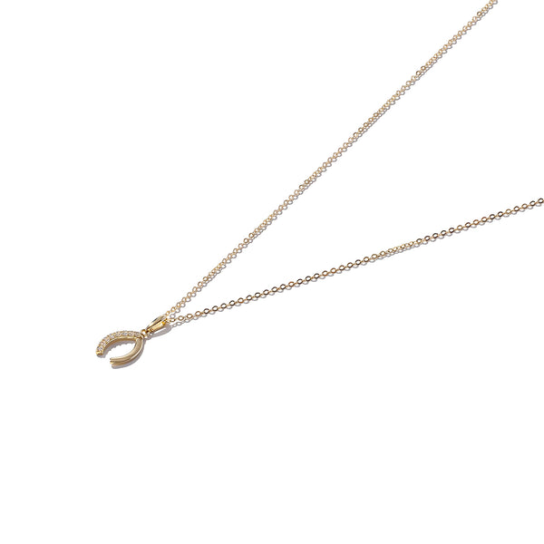 Solid 9ct Gold Lucky for Some Horeshoe Pendant