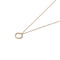 Solid 9ct Gold Floating Square Pendant
