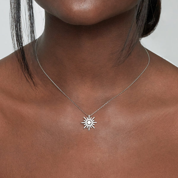 Sterling Silver Super Star Pendant