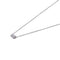 Sterling Silver Double Rubover Necklace