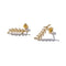 Solid 9ct Gold Don't Rest on your Laurels Earrings
