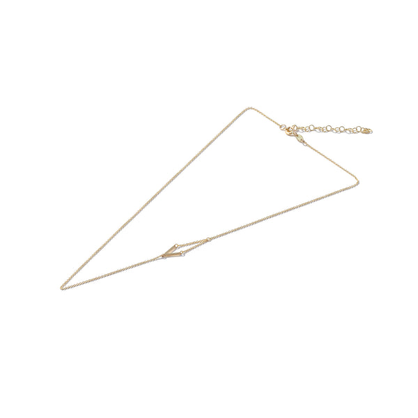 Solid 9ct Gold High as a Kite Necklace