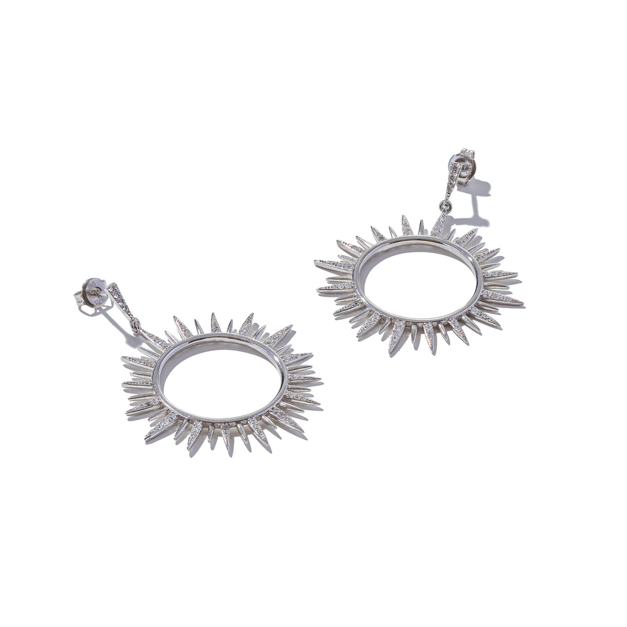 Sterling Silver You're the Sun Earrings