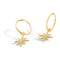 "Solid 9ct Gold Detachable ""Star Attraction"" Earrings"