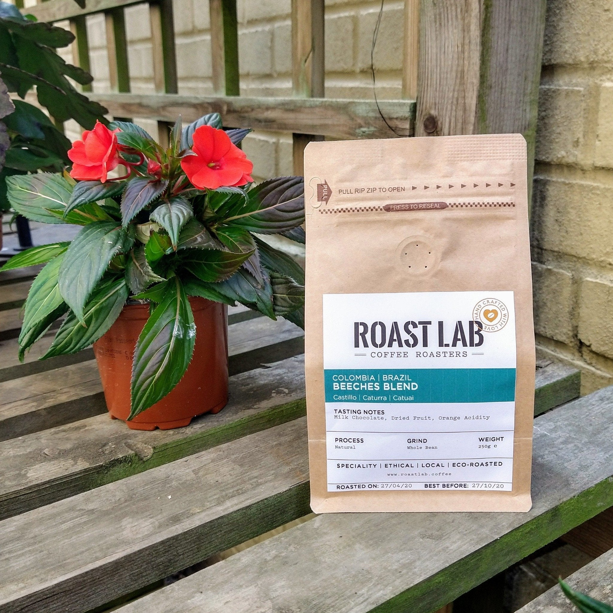 Beeches Blend | Colombia & Brazil - Roast Lab Coffee Roasters
