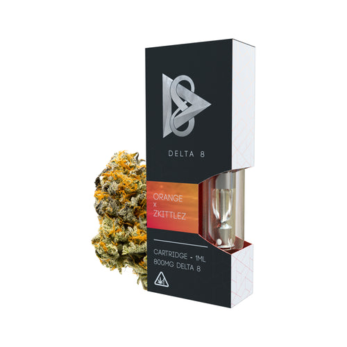 Orange x Zkittlez Delta-8 THC Vape Cartridge