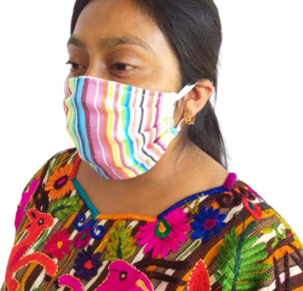 Pleated Cotton Mask w/ filter pocket