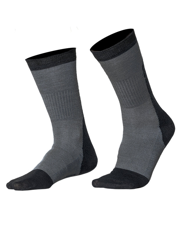 Socks Skilled Classic Liner, Dark Grey/Grey