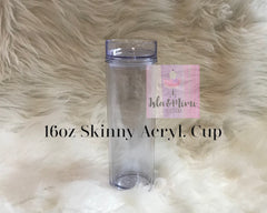 Bling Cup - Custom Tumbler - Personalized Tumbler - Personalized Gift - Isla&Mimi Creations