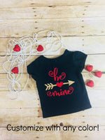 First Valentines Day Outfit- 1st Valentines Day Outfit- Girls Valentines Day Outfit- Cute Valentines Day Outfit- Baby Girl Valentines Outfit - Isla&Mimi Creations