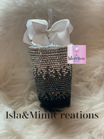 Bling Cup - 3-Color Ombré - Acrylic Tumbler Style - Personalized Cup - Isla&Mimi Creations