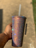 Bling Cup - Single Color - Acrylic Tumbler - Personalized Cup - Isla&Mimi Creations