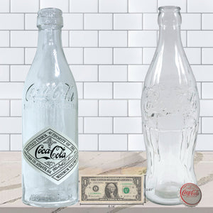 Decorative Coca-Cola Glass Bottles
