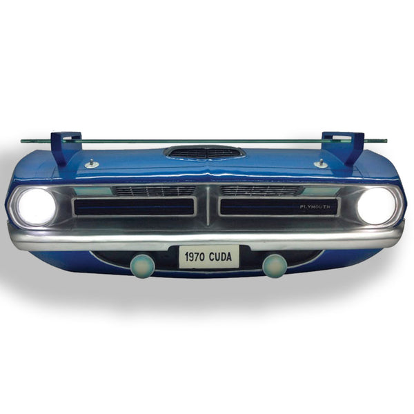 CHRYSLER 1970 PLYMOUTH BARRACUDA 'CUDA FRONT END WALL SHELF (WORKING LIGHTS)