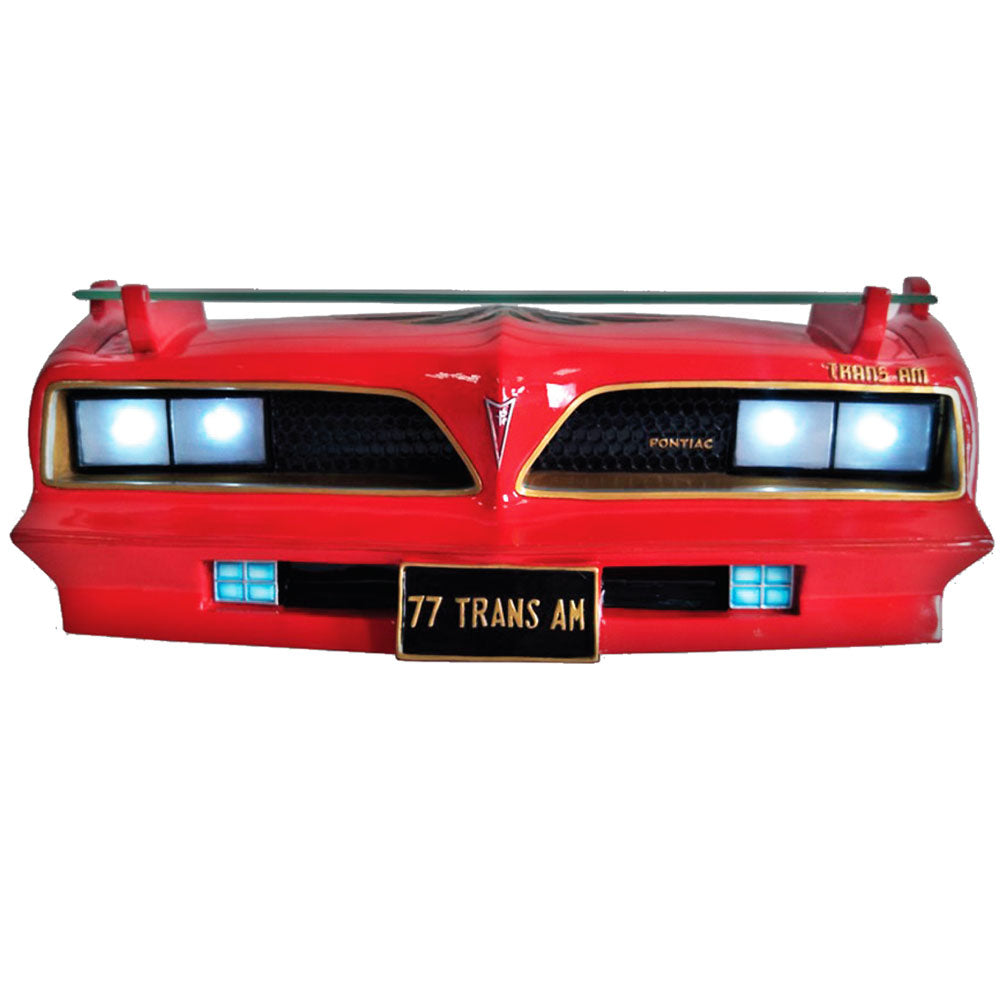 77 SE PONTIAC TRANS SHELF, 3-D, RED