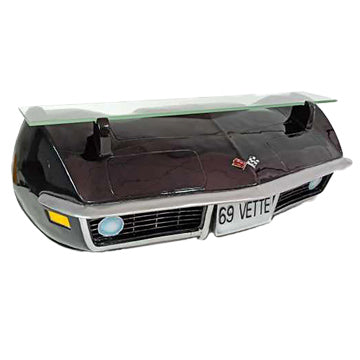 1969 CORVETTE 3-D WALL SHELF, BLACK