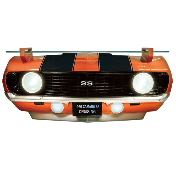 69 CAMARO SS FRONT WALL SHELF(W/LIGHTS