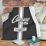"GM CAMARO - Fleece Blanket Sherpa 50""x60"""