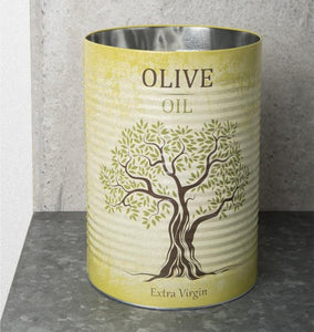 Storage canister tin