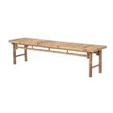 "Afbeelding in Gallery-weergave laden, Bench ""sole"", bamboo"