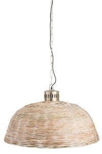 Hanglamp rond bamboo medium