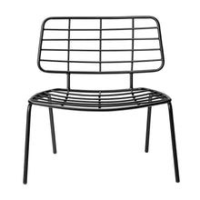 Afbeelding in Gallery-weergave laden, Lounge chair black + cushion