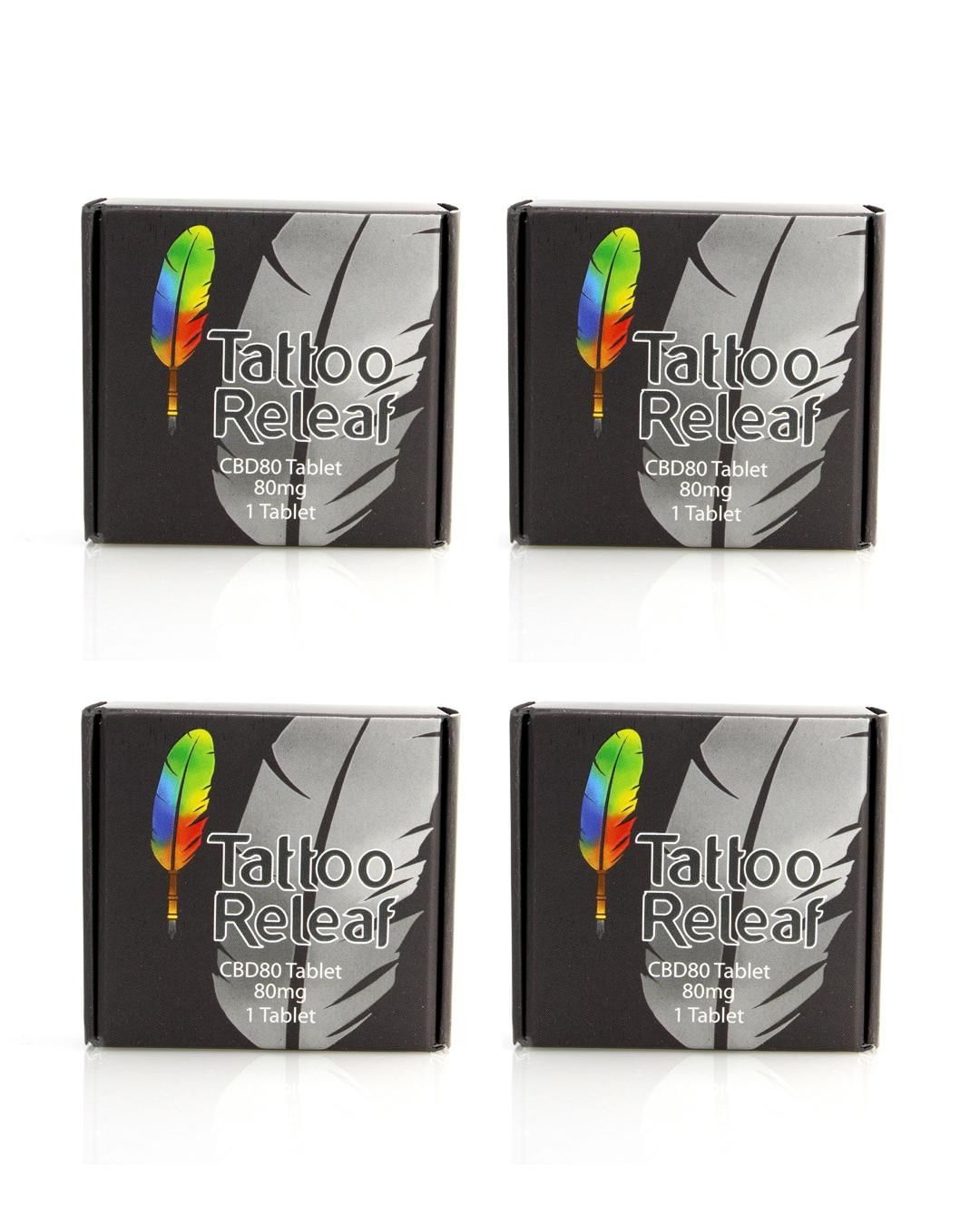 Tattoo Releaf 80mg CBD Rapid Dissolving Tablet