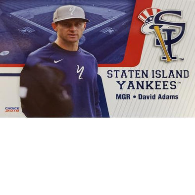 Staten Island Yankees 2019 Team Card Set