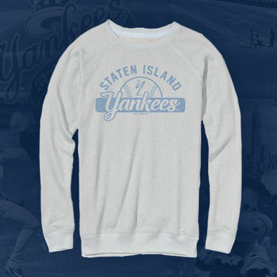 Staten Island Yankees MV Sport Baby Blue Crew Long Sleeve Shirt
