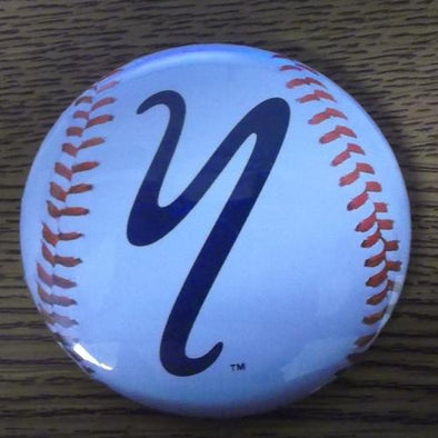 Staten Island Yankees Y Logo Baseball Button