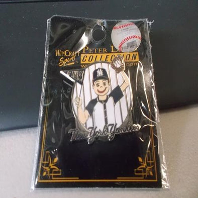 New York Yankees Boy Fan Pin