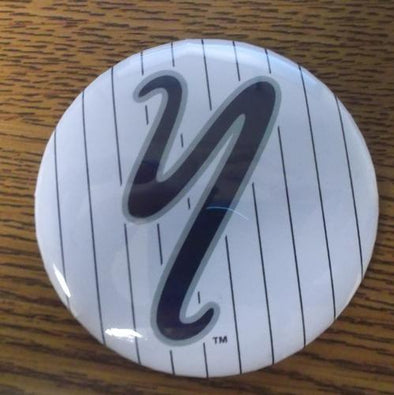 Staten Island Yankees Y Logo Pinstripes Button
