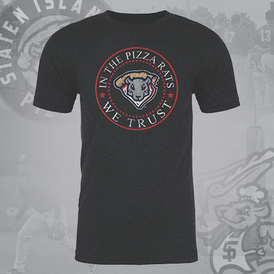 Staten Island Pizza Rats 108 Stitches Black Federal T-Shirt